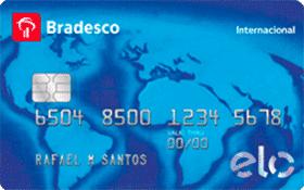 Cartão de Crédito Bradesco Elo Internacional Básico