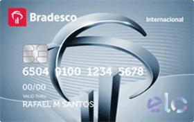 Cartão de Crédito Bradesco Elo Internacional – Função Crédito