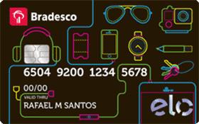 Cartão de Crédito Bradesco Elo Universitário – Função Crédito