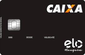 Cartão de Crédito Caixa Elo Nanquim