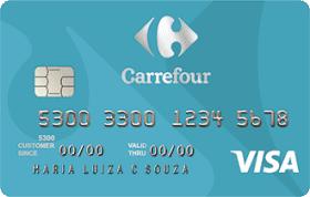 Cartão de Crédito Carrefour Visa Internacional