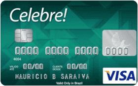Cartão de Crédito Celebre