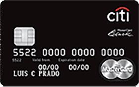 Cartão de Crédito Citi Black Mastercard
