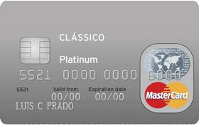 Cartão de Crédito Citi Clássico MasterCard Platinum