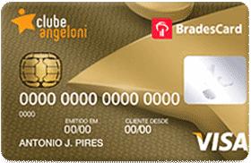Cartão de Crédito Clube Angeloni Visa Gold