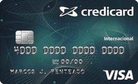 Cartão de Crédito Credicard Visa Internacional