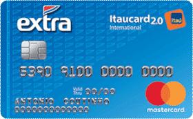 Cartão de Crédito EXTRA Itaucard 2.0 International MasterCard