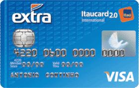 Cartão de Crédito EXTRA Itaucard 2.0 International Visa