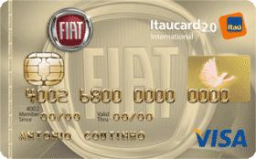 Cartão de Crédito FIAT Itaucard 2.0 International Visa