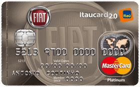 Cartão de Crédito FIAT Itaucard 2.0 Platinum MasterCard