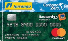 Cartão de Crédito Ipiranga Carbono Zero 2.0 Internacional MasterCard