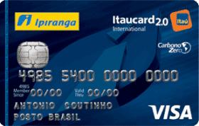 Cartão de Crédito Ipiranga Flex 2.0 Internacional Visa