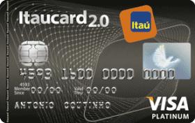 Cartão de Crédito Itaucard 2.0 Platinum Visa 9351f66e86f6b