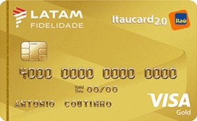 Cartão de Crédito LATAM Itaucard 2.0 Gold Visa
