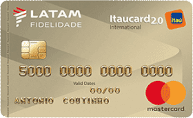 Cartão de Crédito LATAM Itaucard 2.0 Internacional Mastercard