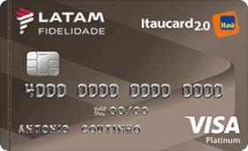Cartão de Crédito LATAM Itaucard 2.0 Platinum Visa