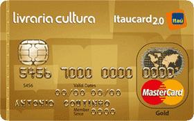 Cartão de Crédito Livraria Cultura Itaucard 2.0 Gold MC