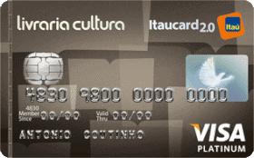 Cartão de Crédito Livraria Cultura Itaucard 2.0 Platinum Visa