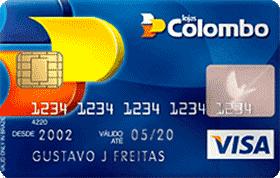 Cartão de Crédito Lojas Colombo Visa Nacional