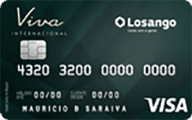 Cartão de Crédito Losango Viva Nacional