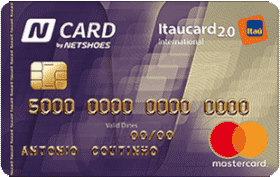 Cartão de Crédito N Card Itaucard 2.0 International MasterCard