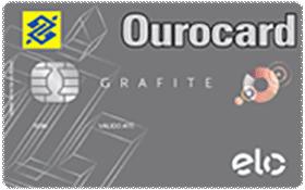 Cartão de Crédito Ourocard Banco do Brasil Elo Grafite