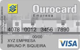 Cartão Pré-Pago Ourocard Empresa Visa