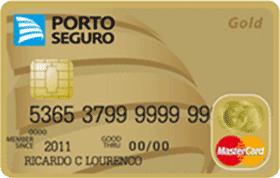 Cartão de Crédito Porto Seguro MasterCard Gold