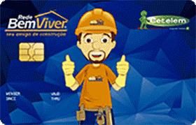 Cartão de Crédito Rede Bem Viver Visa
