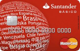Cartão de Crédito Santander Básico