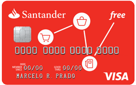 Cartão de Crédito  Santander Free Visa