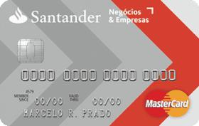 Cartão de Crédito Santander Negócios & Empresas