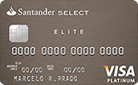 Cartão de Crédito Select Elite Platinum Visa