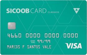 Cartão de Crédito Sicoobcard Visa Classico