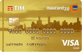 Cartão de Crédito TIM Itaucard 2.0 Gold Visa