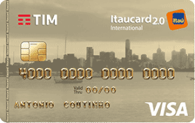 Cartão de Crédito TIM Itaucard 2.0 Internacional Visa