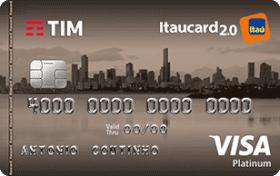 Cartão de Crédito TIM Itaucard 2.0 Platinum Visa