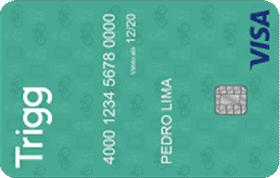 Cartão de Crédito Trigg Visa Internacional Verde