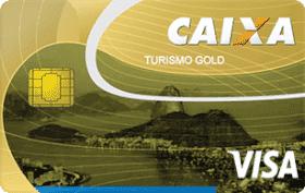 Cartão de Crédito Turismo Caixa Gold Visa