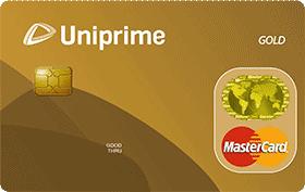 Cartão de Crédito Uniprime Gold Mastercard