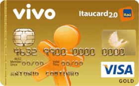 Cartão de Crédito VIVO Itaucard 2.0 Gold Visa Pós