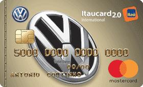 Cartão de Crédito Volkswagen Itaucard 2.0 International MasterCard
