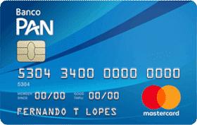 Cartão PAN MasterCard Básico Internacional