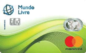 Cartão Pré-Pago Agillitas Mundo Livre Mastercard