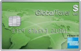 Cartão Pré-Pago American Express GlobalTravel Card Dólar