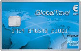 Cartão Pré-Pago American Express GlobalTravel Card Euro