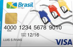 Cartão Pré-Pago Brasil Combustível