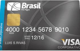 Cartão Pré-Pago Corporativo Visa