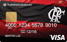Cartão Pré-Pago Flamengo de Bolso