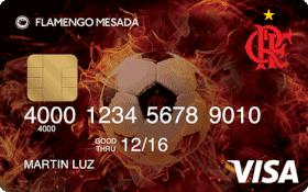 Cartão Pré-Pago Flamengo Mesada Visa